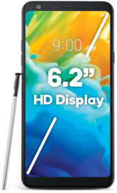 "6.2"" HD Display"