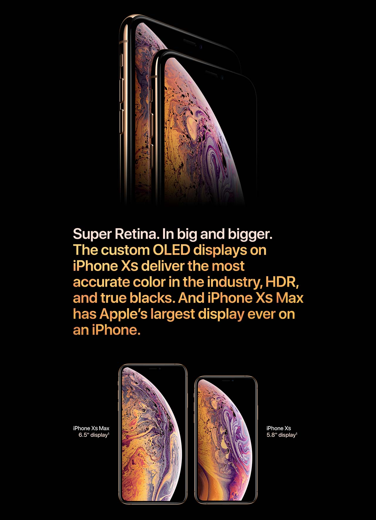 Apple iPhone Xs Max - Funciones