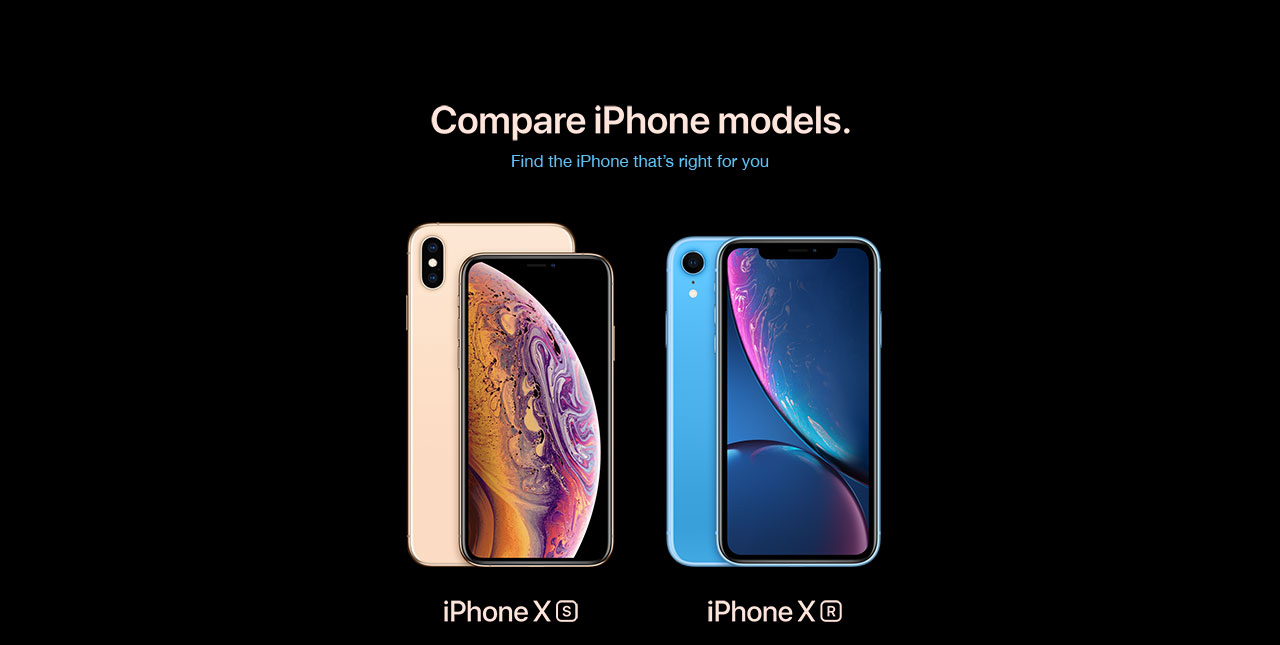 Comparar iPhone