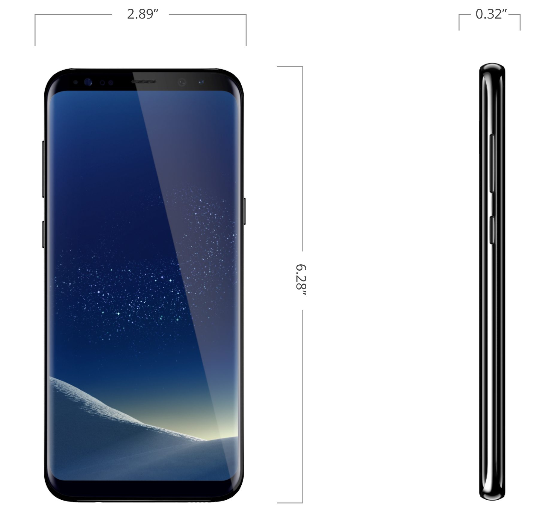 Samsung Galaxy S8+ Pre-Owned | Tuggl