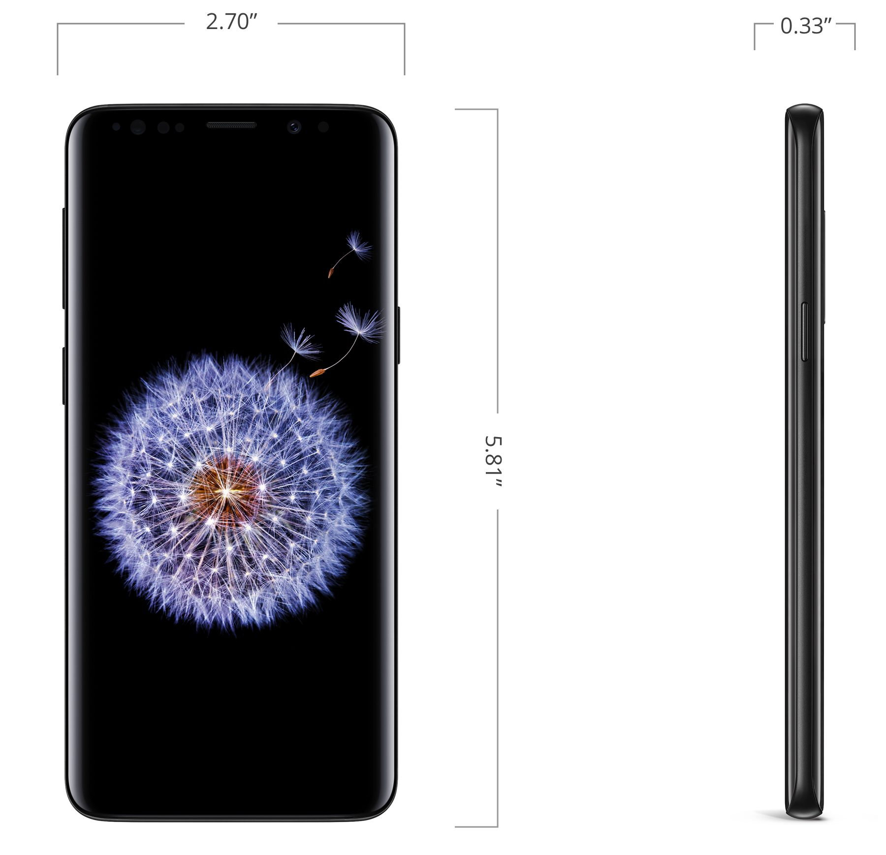 Galaxy S9, 64GB, Black, Boost Mobile