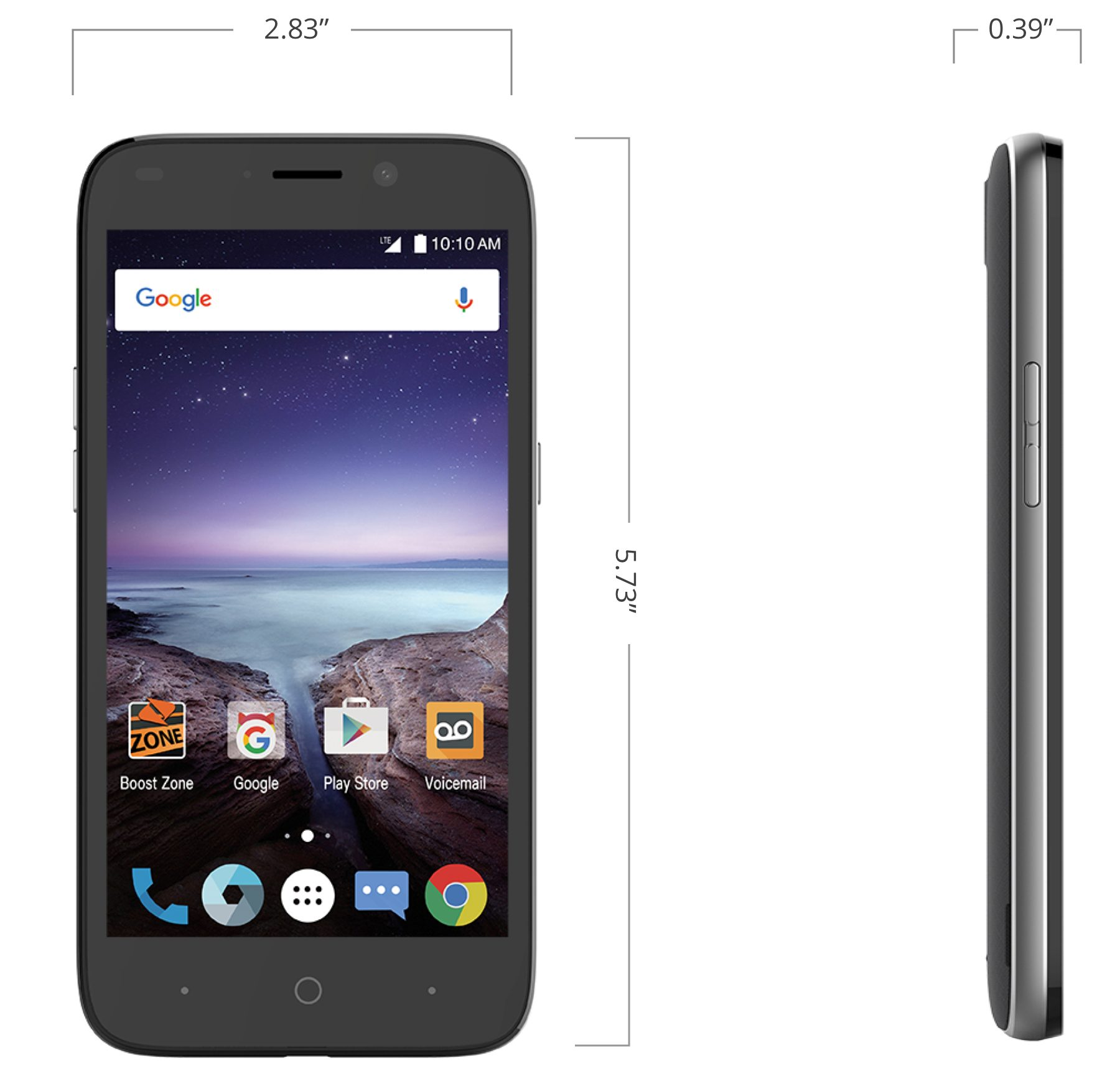 ZTE Prestige 2 at Boost Mobile in Lincoln Park, MI | Tuggl