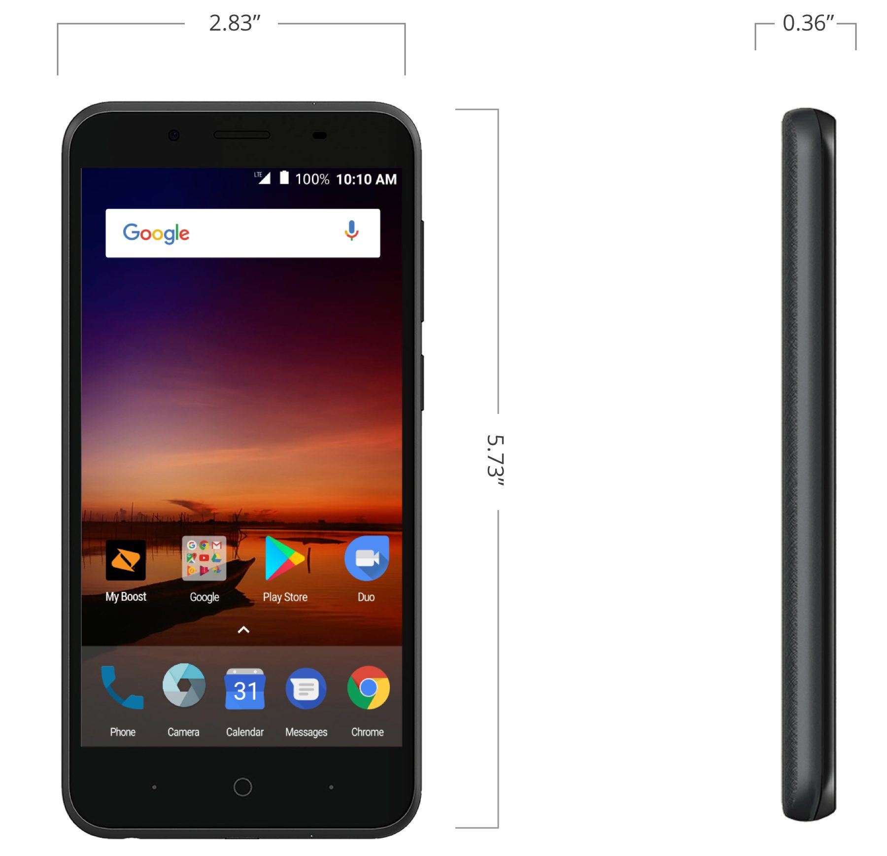 ZTE Tempo X at Boost Mobile in Lincoln Park, MI | Tuggl